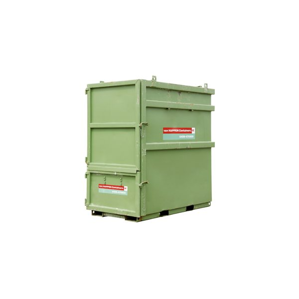 Gesloten afvalcontainer huren | Afvalcontainers Brabant