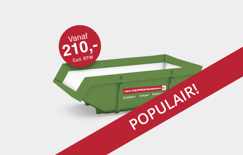 Bouwcontainer huren | Afvalcontainers Brabant