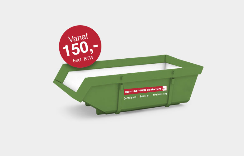 Grondcontainer huren | Afvalcontainers Brabant