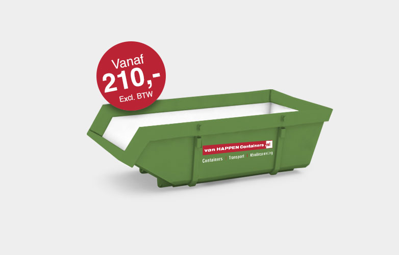 Afvalcontainers Brabant Grofvuil container €210